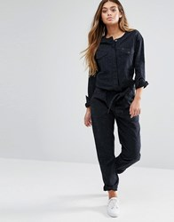 Lee Utility Jumpsuit Black