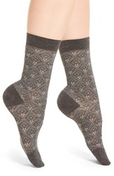 Pantherella Women's 'Daisy' Trouser Socks Dark Grey Mix