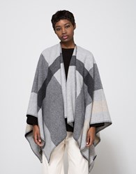 Just Female Hilton Cape In Light Grey