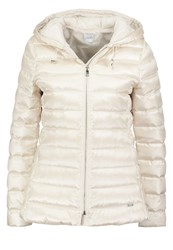 Liu Jo Jeans Winter Jacket Champagne Off White