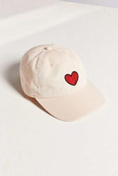 Bdg Icon Canvas Baseball Hat Pink