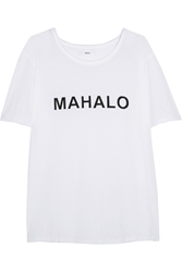 Mikoh New Caledonia Printed Cotton Jersey T Shirt