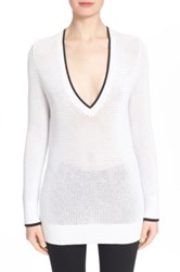 Rag And Bone Maeve V Neck Sweater White