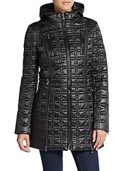 Dawn Levy Winny Quilted Coat Black
