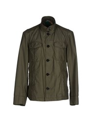 Boss Black Coats And Jackets Jackets Men Military Green