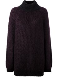 Marc Jacobs Oversized Jumper Pink Purple