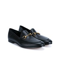 Gucci Horsebit Leather Loafers Black