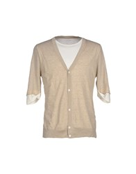 Alpha Massimo Rebecchi Knitwear Jumpers Men Beige