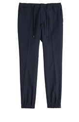 Marc Jacobs Wool Cotton Tapered Pants