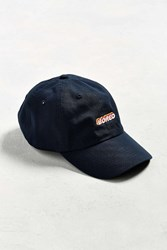 Urban Outfitters Uo Bored Baseball Hat Navy