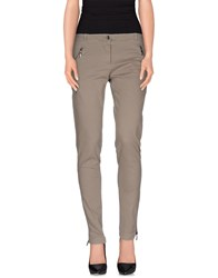 Divina Trousers Casual Trousers Women Grey