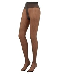 Oroblu Adele Dot Print Tights Black