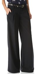 Alice Olivia Eric Wide Leg Pants Black