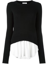 Dondup Layered Jumper Black