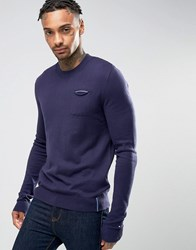 Tommy Hilfiger Icon Sweat In Navy Navy