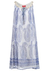 Derhy Echeance Summer Dress Bleu Blue