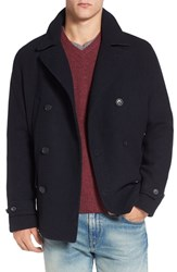 Original Penguin Men's Wool Blend Peacoat