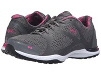 Ryka Grafik Iron Grey Athena Pink Black Women's Shoes Gray