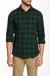 Globe Fawkner Plaid Shirt Green