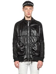 Skingraft Nylon And Leather Jacket