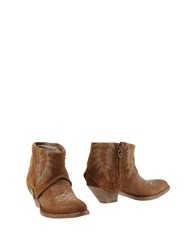 Htc Ankle Boots Brown