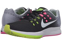 Nike Air Zoom Structure 19 Black White Pink Blast Dark Purple Dust Women's Running Shoes