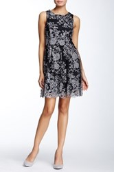 Soieblu Bow Back Party Dress Gray