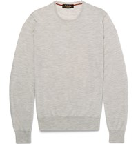 Loro Piana Cashmere Sweater Gray