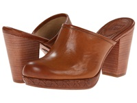 Frye Jessica Bohemian Slide Brown Smooth Vintage Pull Up Women's Clog Shoes