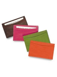 Graphic Image Slim Leather Card Case