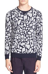 Men's Tim Coppens Jacquard Virgin Wool Sweater