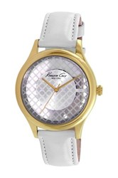 Kenneth Cole Women's Analog Watch White