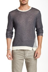 Joe's Jeans Ace Crew Neck Sweater Gray
