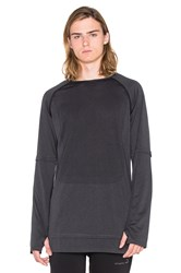 Puma Select X Stampd Long Sleeve Charcoal