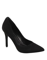 Charles By Charles David Pact Suede Stiletto Pumps Black