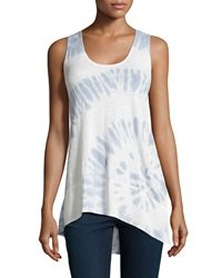 Xcvi Tie Dye High Low Tank Whipped Cream