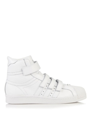 Juun.J Leather High Top Trainers
