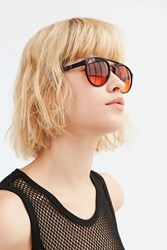 Urban Outfitters Venice Aviator Sunglasses Black