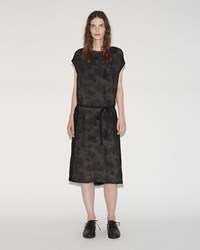 Pas De Calais Tie Waist Dress Charcoal
