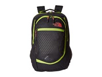 The North Face Pivoter Tnf Black Emboss Calypso Coral Backpack Bags