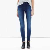 Madewell 9' High Riser Skinny Skinny Jeans In Surfside Wash
