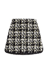 Giambattista Valli Boucle Mini Skirt With Virgin Wool Multicolor