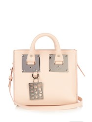 Sophie Hulme Mini Albion Box Leather Cross Body Bag Light Pink