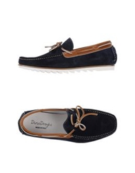 Dino Draghi Moccasins Dark Blue