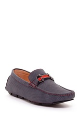 Adolfo Marina Textured Loafer Blue