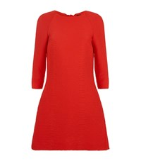 Maje Long Sleeved Ruched Dress Female Red