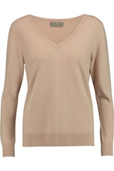 N.Peal Cashmere Boyfriend Cashmere Sweater Brown
