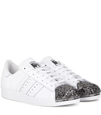 Adidas Superstar 80S Metal Toe Leather Sneakers White