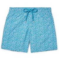 Vilebrequin Oorea Id Length Printed Swi Shorts Blue