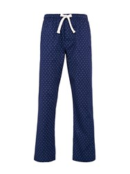 Howick Plain Nightwear Trousers Navy